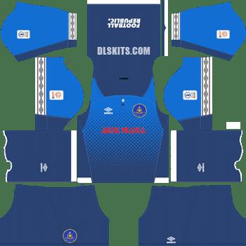 Pahang FA Kit 2019 Goalkeeper Away - Dream League Soccer Kits - DLS 19 Kits