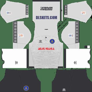 Pahang FA Kit 2019 Goalkeeper Home - Dream League Soccer Kits - DLS 19 Kits
