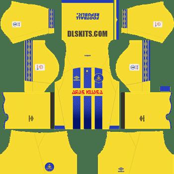 Pahang FA Kit 2019 Home - Dream League Soccer Kits - DLS 19 Kits
