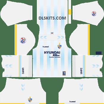 AFC Ulsan Hyundai Away Kit 2019 - DLS Kits - Dream League Soccer Kits URL 512x512
