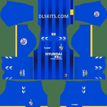 AFC Ulsan Hyundai Home Kit 2019 - DLS Kits - Dream League Soccer Kits URL 512x512
