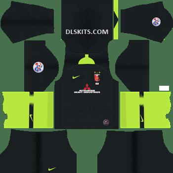 AFC Urawa Red Diamonds Away Kit 2019 - DLS 19 Kits - Dream League Soccer Kits URL 512x512