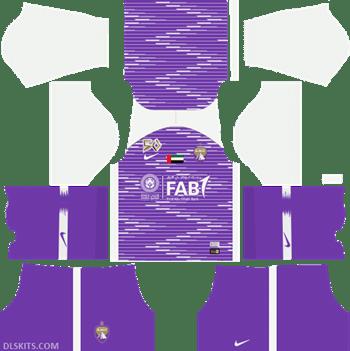 Al Ain FC Kit Away 2019 - DLS Kits - Dream League Soccer Kits URL 512x512