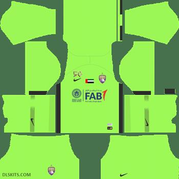 Al Ain FC Kit Goalkeeper Away 2019 - DLS Kits - Dream League Soccer Kits URL 512x512