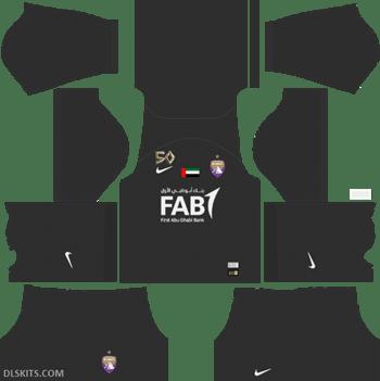 Al Ain FC Kit Goalkeeper Home 2019 - DLS Kits - Dream League Soccer Kits URL 512x512