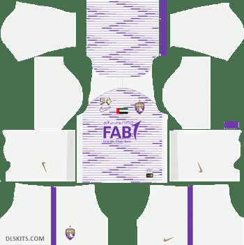 Al Ain FC Kit Home 2019 - DLS Kits - Dream League Soccer Kits URL 512x512