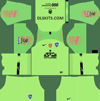 Al-Hilal FC Goalkeeper Away Kit 2019 - DLS Kits - Dream League Soccer URL 512x512