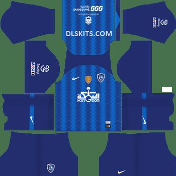 Al-Hilal FC Home Kit 2019 - DLS Kits - Dream League Soccer Kits URL 512x512
