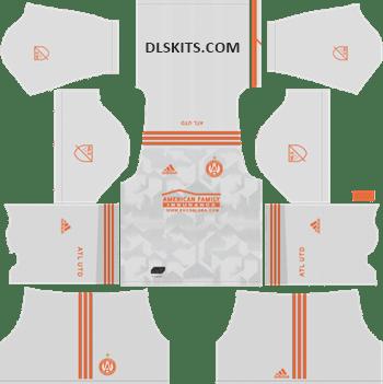 Atlanta United Away Kits 2019 - DLS Kits - Dream League Soccer Kits URL 512x512 Jersey