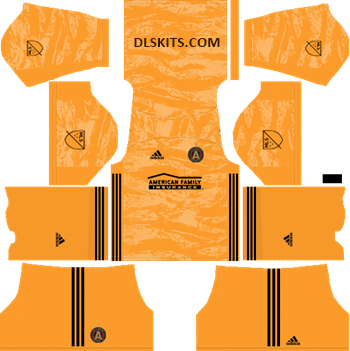 Atlanta United Goalkeeper Away Kits 2019 - DLS Kits - Dream League Soccer Kits URL 512x512 Jersey