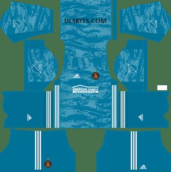 Atlanta United Goalkeeper Home Kits 2019 - DLS Kits - Dream League Soccer Kits URL 512x512 Jersey