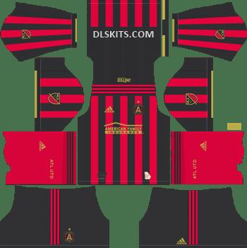 huge discount df2a3 22767 Atlanta United FC Kits 2019 - Dream League Soccer Kits & Logo