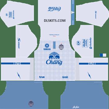 Buriram United Away Kit 2019 - DLS Kits - Dream League Soccer Kits URL 512x512