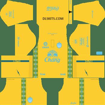 Buriram United Goalkeeper Away Kit 2019 - DLS Kits - Dream League Soccer Kits URL 512x512