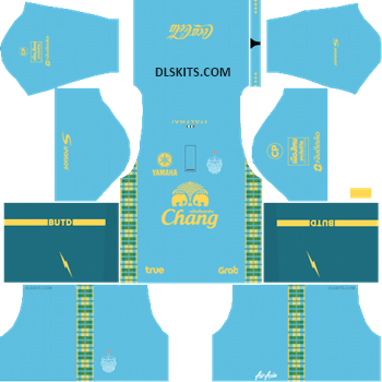 Buriram United Goalkeeper Home Kit 2019 - DLS Kits - Dream League Soccer Kits URL 512x512