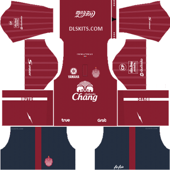Buriram United Third Kit 2019 - DLS Kits - Dream League Soccer Kits URL 512x512