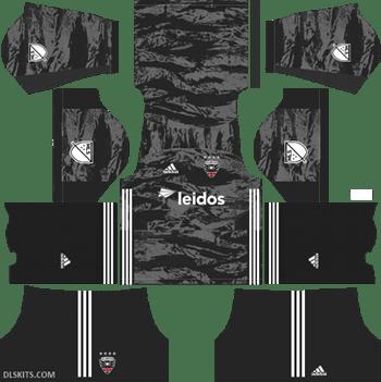 DC United 2019 Goalkeeper Away Kit - DLS Kits - Dream League Soccer Kits URL 512x512