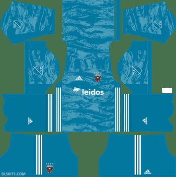 DC United 2019 Goalkeeper Home Kit - DLS Kits - Dream League Soccer Kits URL 512x512