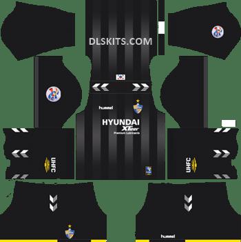 Goalkeeper AFC Ulsan Hyundai Away Kit 2019 - DLS Kits - Dream League Soccer Kits URL 512x512