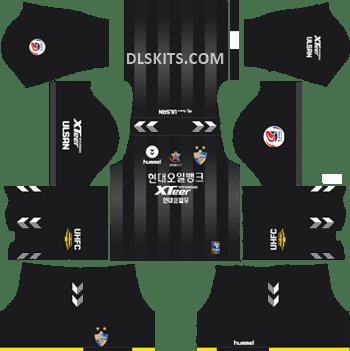 Goalkeeper Ulsan Hyundai Home Kit 2019 - DLS Kits - Dream League Soccer Kits URL 512x512