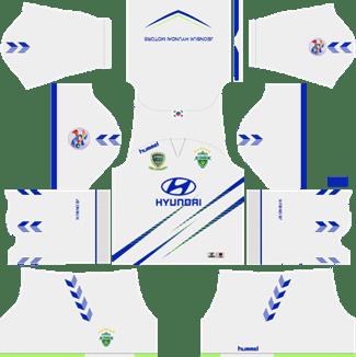 Jeonbuk Hyundai Motors AFC Away Kit 2019 - DLS 19 Kits - Dream League Soccer Kits URL 512x512