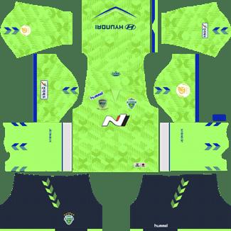 Jeonbuk Hyundai Motors FC Home Kit 2019 - DLS 19 Kits - Dream League Soccer Kits URL 512x512