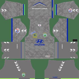 Jeonbuk Hyundai Motors Goalkeeper AFC Away Kit 2019 - DLS 19 Kits - Dream League Soccer Kits URL 512x512