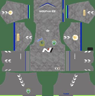 Jeonbuk Hyundai Motors Goalkeeper Away Kit 2019 - DLS 19 Kits - Dream League Soccer Kits URL 512x512