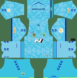 Jeonbuk Hyundai Motors Goalkeeper Home Kit 2019 - DLS 19 Kits - Dream League Soccer Kits URL 512x512