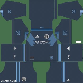 New York City FC 2019 Away Kit - DLS 19 Kits - Dream League Soccer Kits 512x512 URL