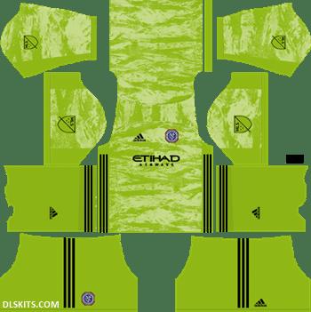 New York City FC 2019 Goalkeeper Away Kit - DLS 19 Kits - Dream League Soccer Kits Jersy 512x512 URL