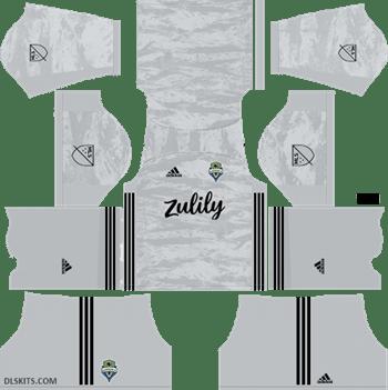 480f03dc7783b4 Seattle Sounders FC Goalkeeper Away Kit 2019 - DLS Kits - Dream League  Soccer Kits URL