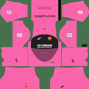 260c6664d97 Selangor 2019 Kit Goalkeeper Away - DLS Kits - Dream League Soccer Kits URL  512x512