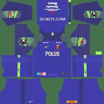 Urawa Red Diamonds Goalkeeper Home Kit 2019 - DLS 19 Kits - Dream League Soccer Kits URL 512x512