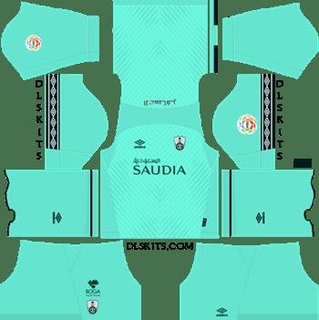 9297799b6e5 Al-Ahli Saudi FC Goalkeeper Home Kit 2019 - DLS 19 Kits - Dream League