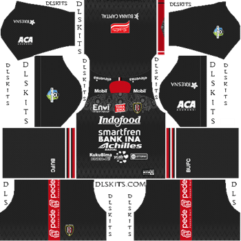 Bali United FC Away Kit 2019 - DLS 19 Kits - Dream League Soccer Kits URL