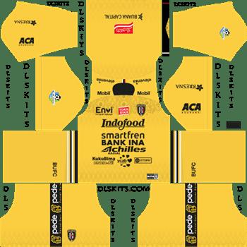 Bali United FC Goalkeeper Away Kit 2019 - DLS 19 Kits - Dream League Soccer Kits URL