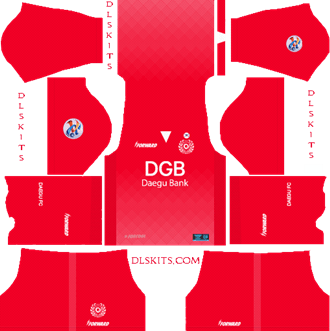 Daegu FC AFC Goalkeeper Home Kit 2019 - DLS 19 Kits - Dream League Soccer Kits URL 512x512