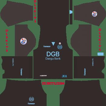 Daegu FC Goalkeeper AFC Away Kit 2019 - DLS 19 Kits - Dream League Soccer Kits URL 512x512