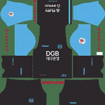 Daegu FC Goalkeeper Away Kit 2019 - DLS 19 Kits - Dream League Soccer Kits URL 512x512