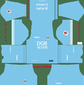 Daegu FC Home Kit 2019 - DLS 19 Kits - Dream League Soccer Kits URL 512x512