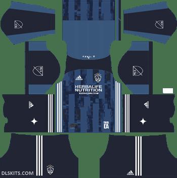 LA Galaxy Away Kit 2019 - DLS 19 Kits - Dream League Soccer Kits URL 512x512