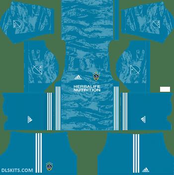 LA Galaxy Goalkeeper Away Kit 2019 - DLS 19 Kits - Dream League Soccer Kits URL 512x512