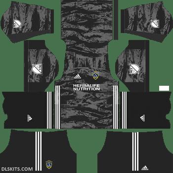 LA Galaxy Goalkeeper Home Kit 2019 - DLS 19 Kits - Dream League Soccer Kits URL 512x512