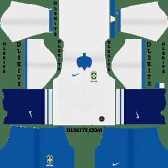 Nike Brazil Copa America Home Kit 2019 - DLS 19 Kits - Dream League Soccer 512x512 Kits