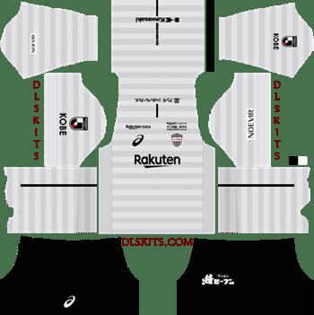 Vissel Kobe Kit Away Kit 2019 - DLS 19 Kits - Dream League Soccer Kits URL 512x512
