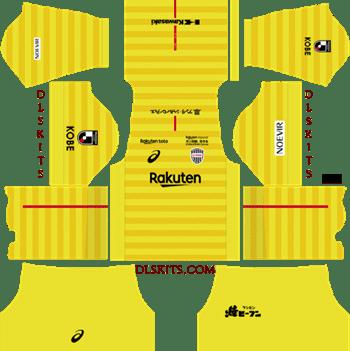 Vissel Kobe Kit Goalkeeper Home Kit 2019 - DLS 19 Kits - Dream League Soccer Kits URL 512x512