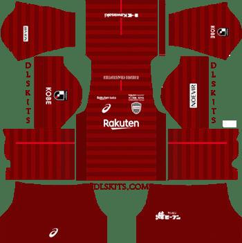 Vissel Kobe Kit Home Kit 2019 - DLS 19 Kits - Dream League Soccer Kits URL 512x512