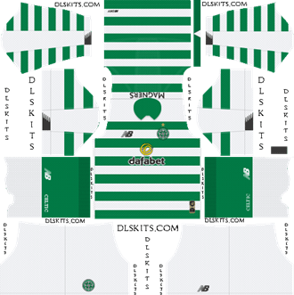 Celtic FC Home Kit 2019-2020 - DLS 19 Kits - Dream League Soccer Kits URL 512x512