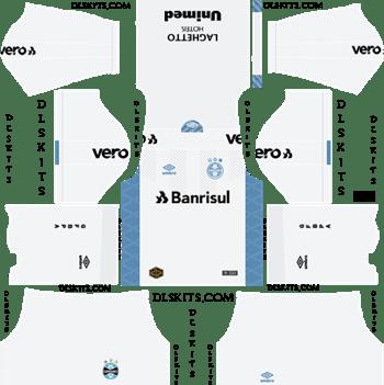 Gremio Away Kit 2019-2020 - DLS 19 Kits - Dream League Soccer Kits URL